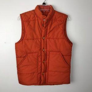 Puffer Vest Orange